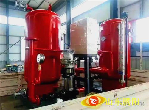 15T蒸汽冷凝水回收现场安装