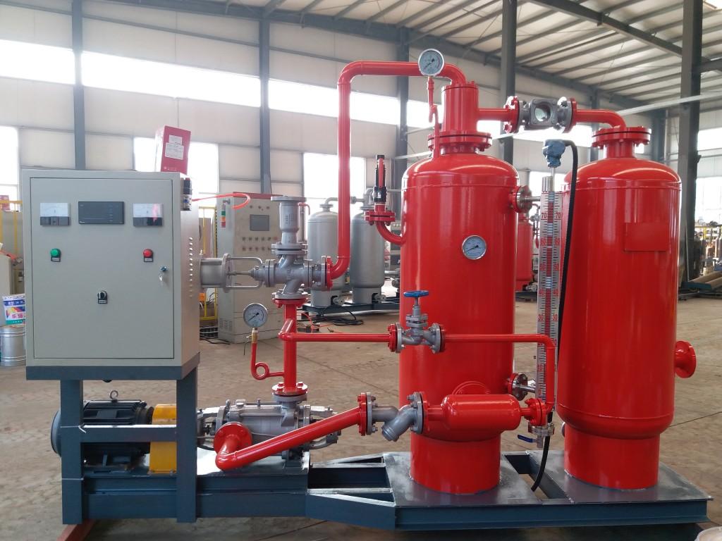 锅炉使用蒸汽冷凝水回收设备优势多多